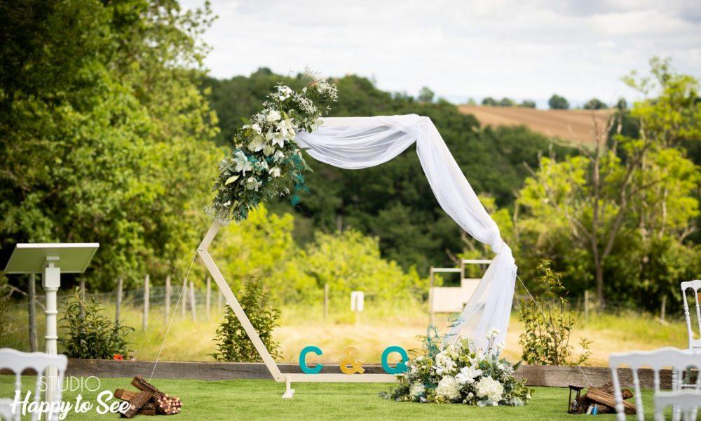 Arche pour cérémonie