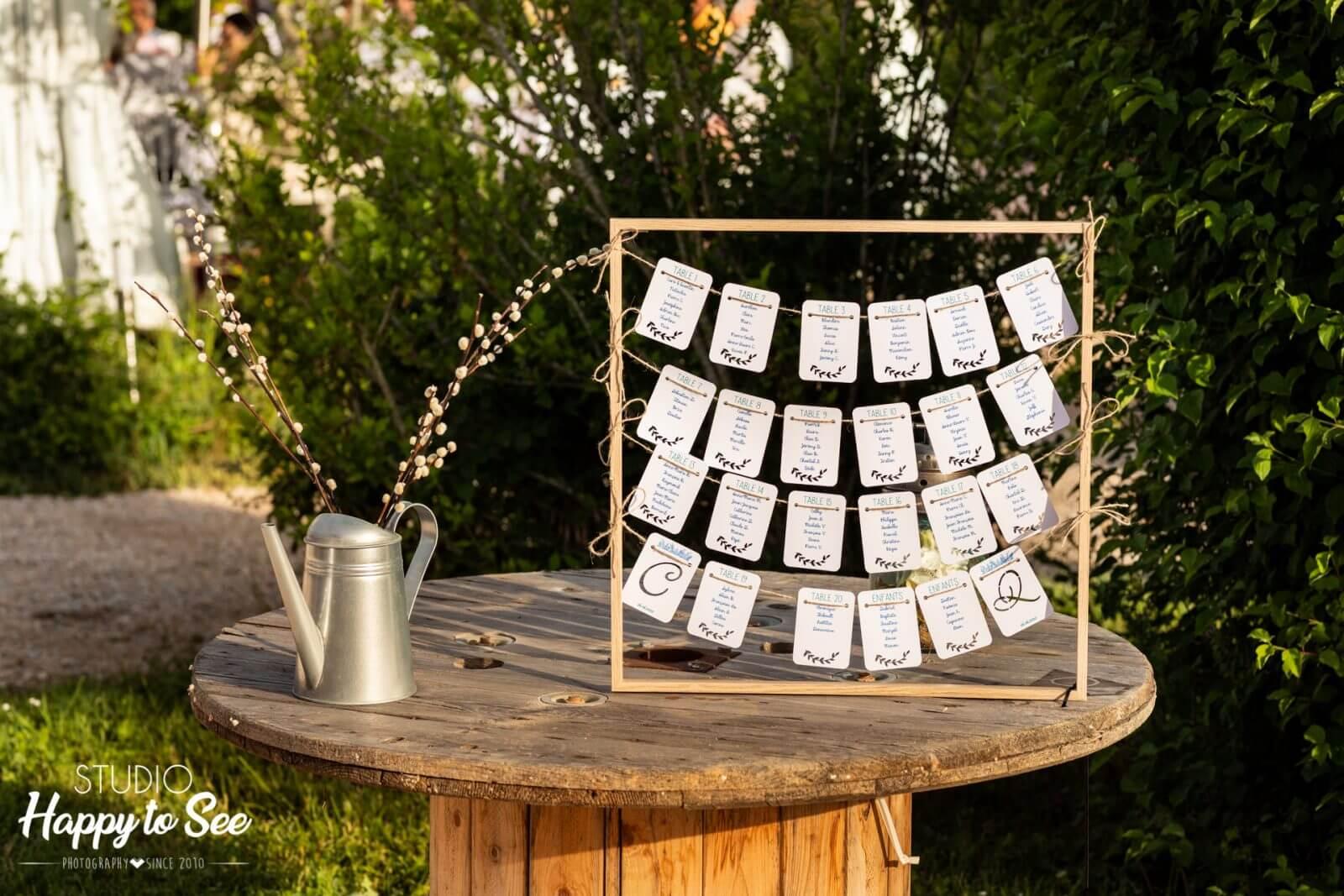 décoration plan de table