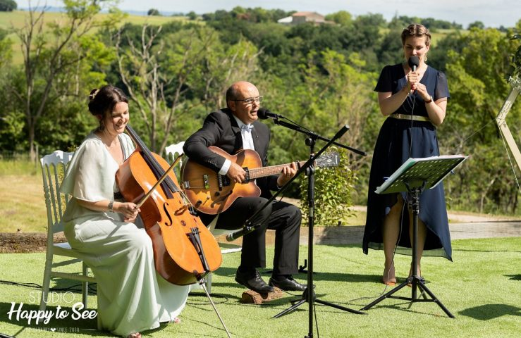 Groupe musiciens cérémonie