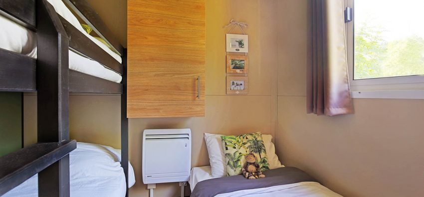 Chalet Morea chambre petits lits