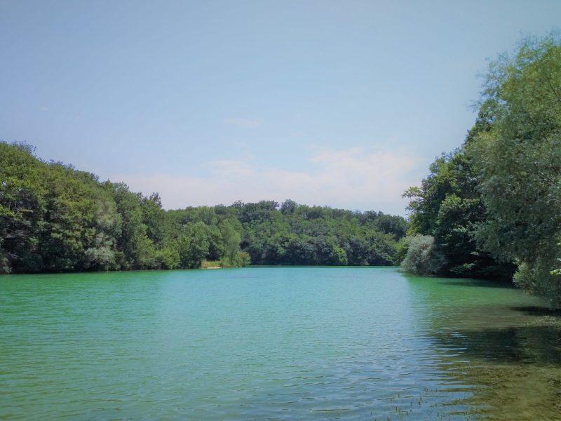 Au bord du lac de Geignes