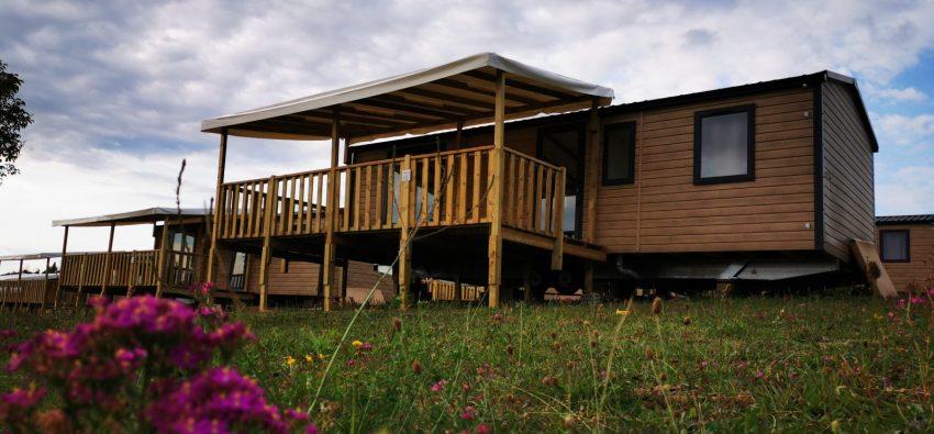 un mobil-home EVO 35 3 chambres