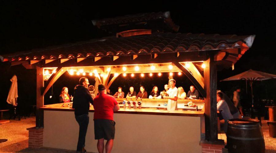 Fin de soirée au kiosk'bar