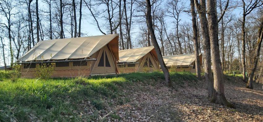 Les tentes lodges en hiver