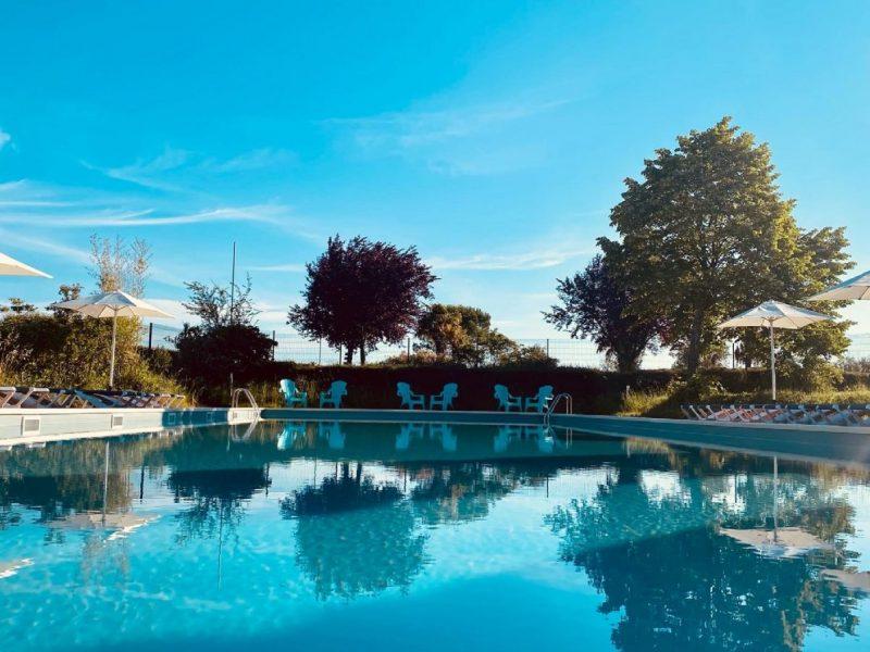 Une piscine parfaite pour les amoureux de la natation